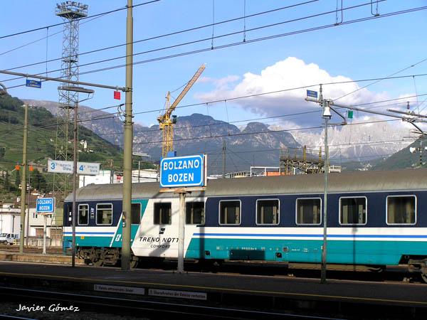 Estación de Bolzano - información de Italia