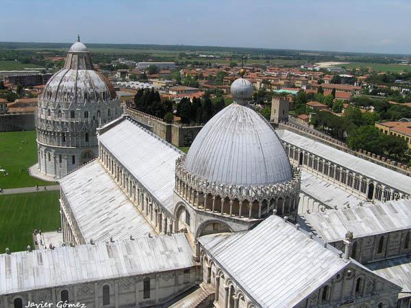 Duomo de Pisa y Baptisterio