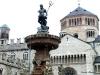 Plaza del Duomo en Trento