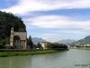 Río Adigio en Trento
