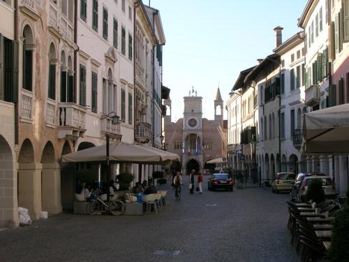 Pordenone, en el occidente de Friuli Venecia Julia