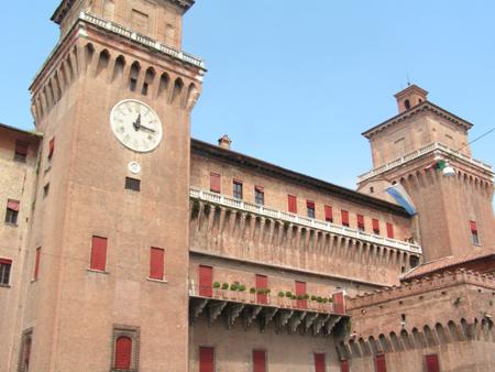 Castillo Estense, en Ferrara (Italia)