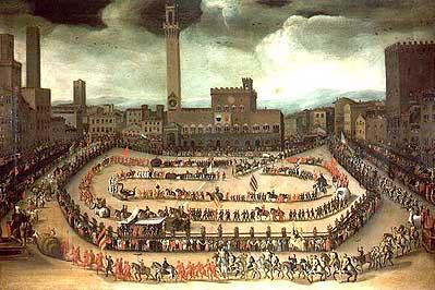 Antiguo Palio di Siena