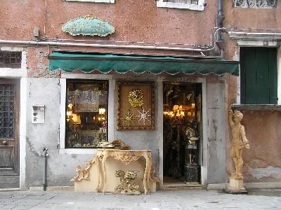 Antiguedades en Venecia