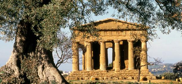 El Valle de los Templos, en Sicilia