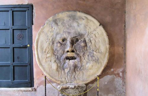 La Boca de la Verdad en Roma