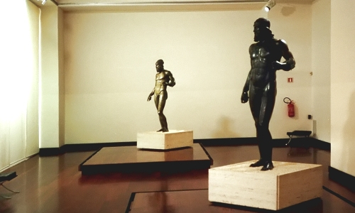 Bronces de Riace, Museo Nacional de la Magna Grecia, Reggio de Calabria