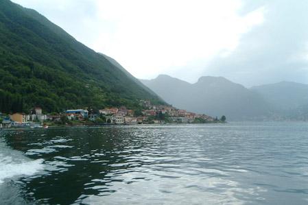 Pasear por el Lago de Como