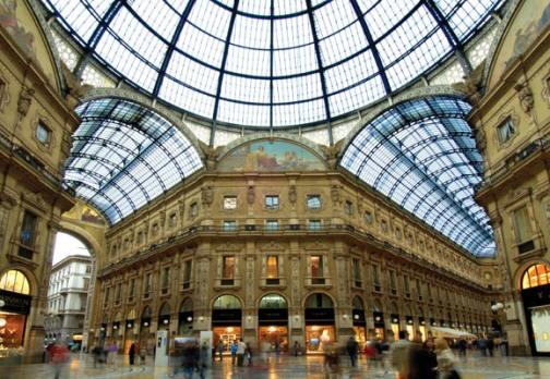 Galleria Vittorio Emanuele_Milán