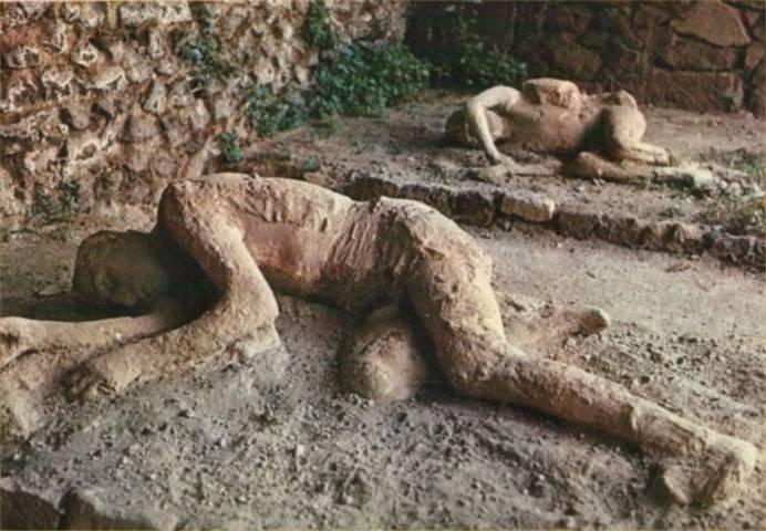 Ruinas de Pompeya, Vesubio, Campania