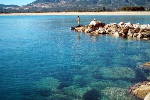 Cerdeña, costa mediterránea