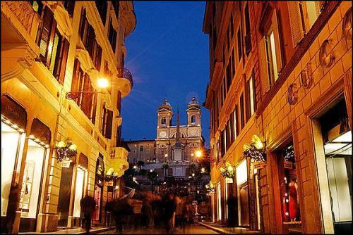 De compras por Roma, lugares destacados