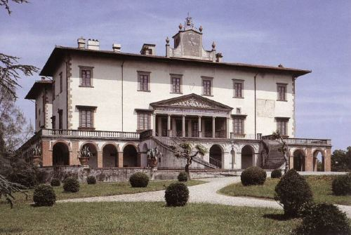 Villa de los Médici, Poggio a Caiano, Prato, Toscana