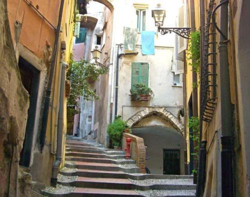 Casco antiguo de San Remo