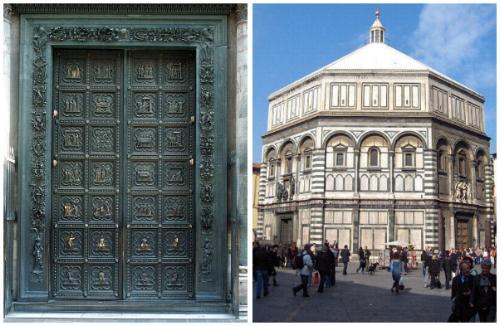 El Baptisterio de Florencia