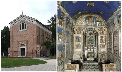capilla de la Arena en Padua