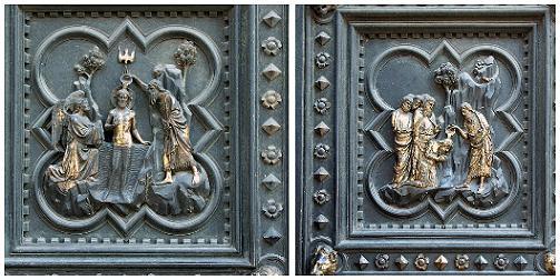 Puerta del Baptisterio de Florencia