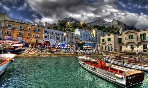 Capri, la perla del sur de Italia