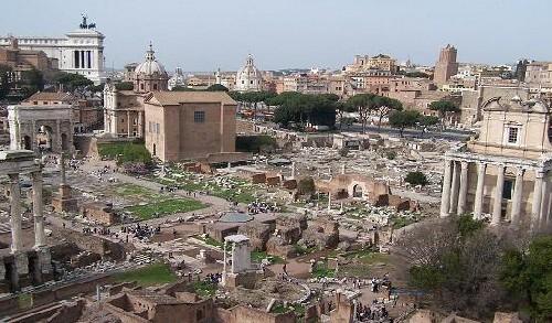 El foro romano, un viaje al pasado