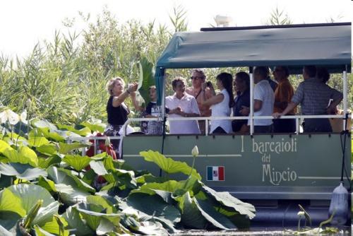 Cruceros por el rio Mincio