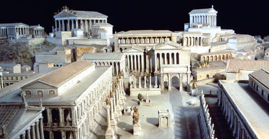 El Foro romano en la Antiguedad