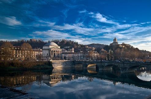 El rio Po en Roma