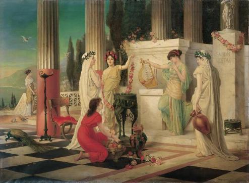 Vestales de la antigua Roma