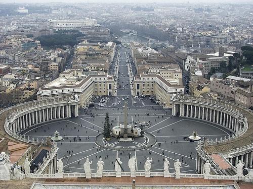 Plazas de Roma, arquitectura barroca y neoclásica