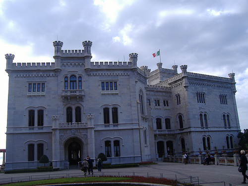 Castillo de Miramar en Trieste