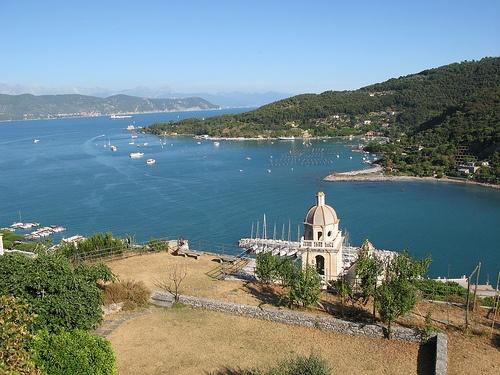 Portovenere, villa inspiradora de poetas