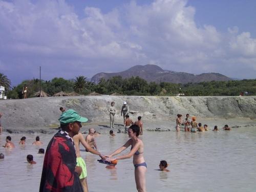 Baños de barro en Vulcano