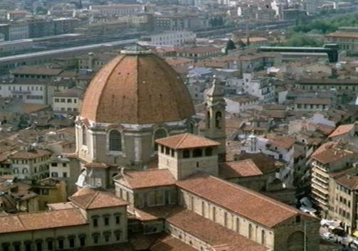 Brunelleschi y la Capilla Pazzi en Florencia