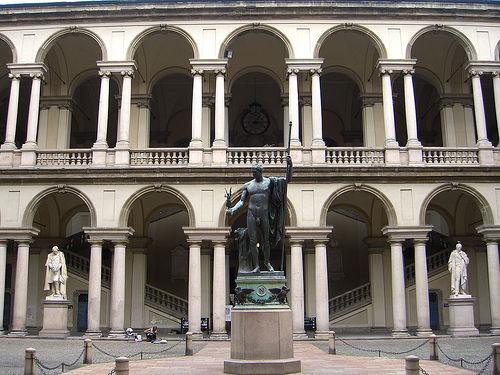 Pinacoteca de Brea en Milan