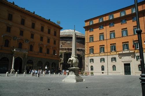 Plaza de Minerva en Roma