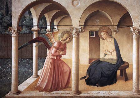 La Anunciacion de Fra Angelico