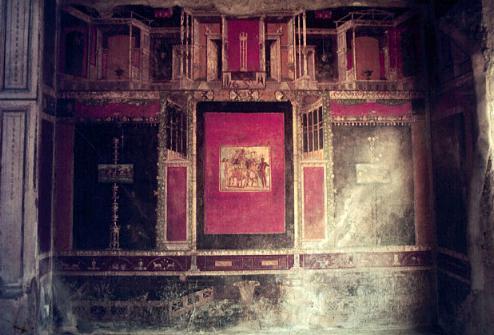 La pintura romana el estilo ornamental for La casa de las pinturas