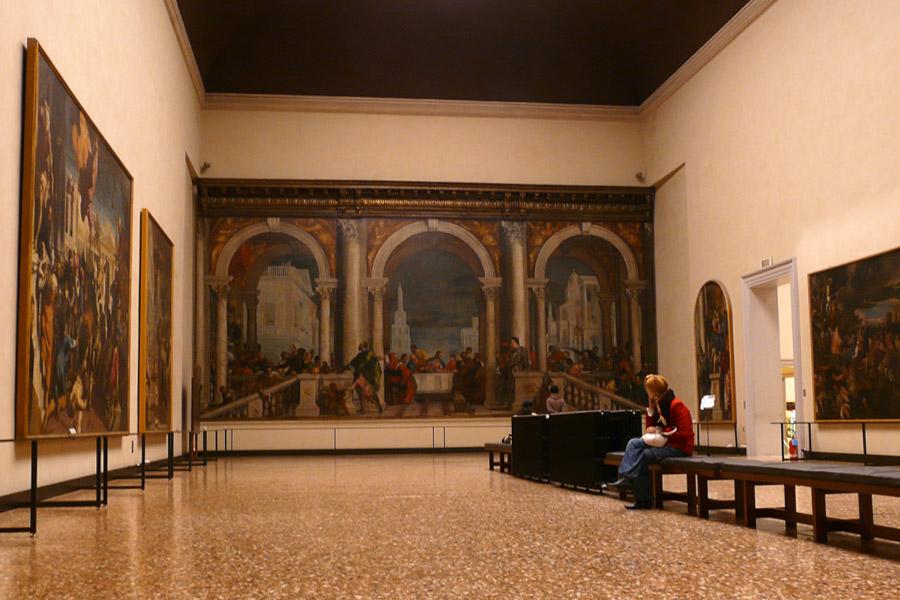 Galeria de la Academia en Venecia