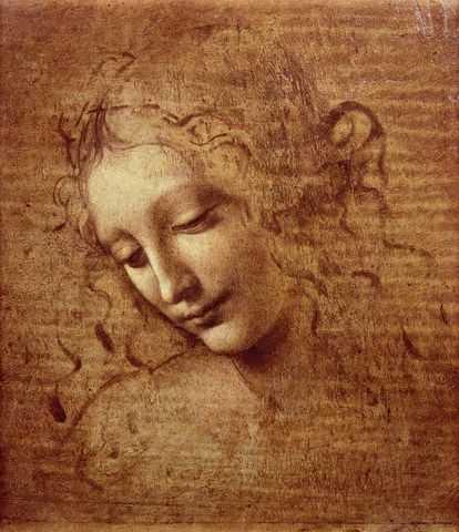 La Scapigliata de da Vinci