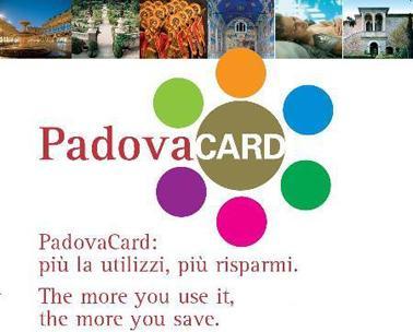 PadovaCard, descuentos en Padua y provincia