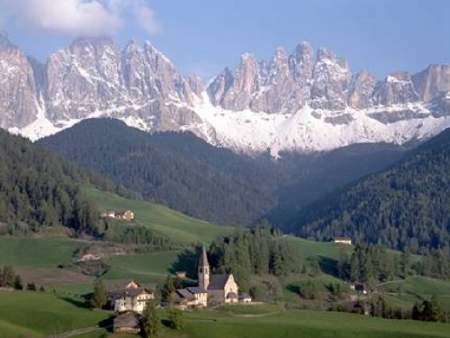 Recorrer los Alpes italianos