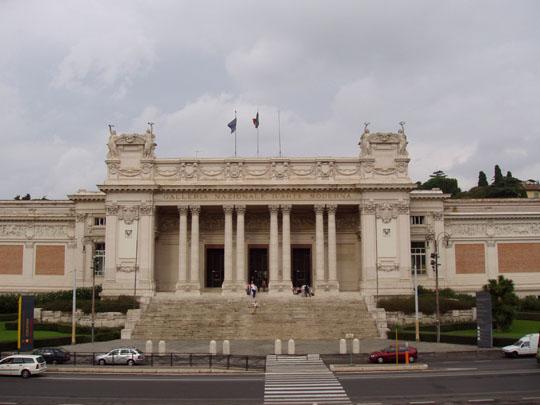 Galeria de arte moderno en Roma