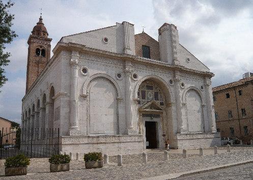 El Templo Malatestiano, catedral de Rimini