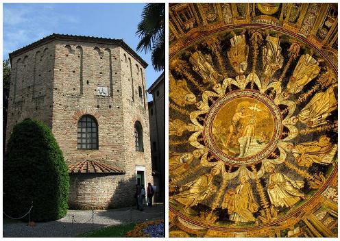 Baptisterio Neoniano en Ravenna
