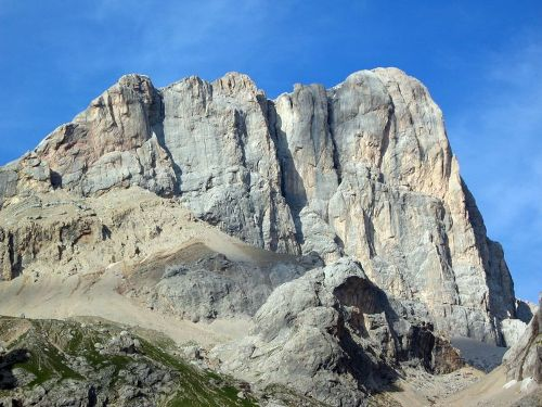 Montañas dolomitas