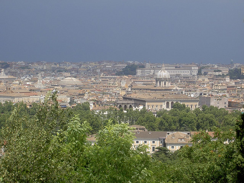 Una colina llamada Janiculo, en Roma