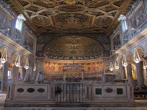 De paseo por la Basílica de San Clemente de Letrán