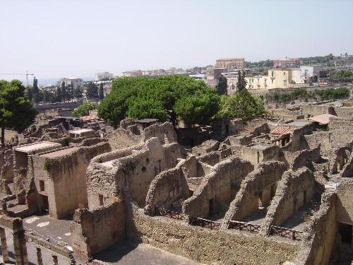 Herculano: la otra gran víctima del Vesubio