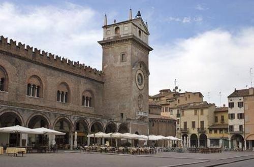 Mantua, ciudad histórica de Lombardía