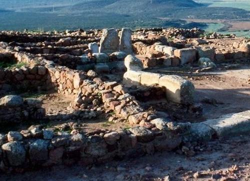 Arqueología en Monte Sirai, Cerdeña