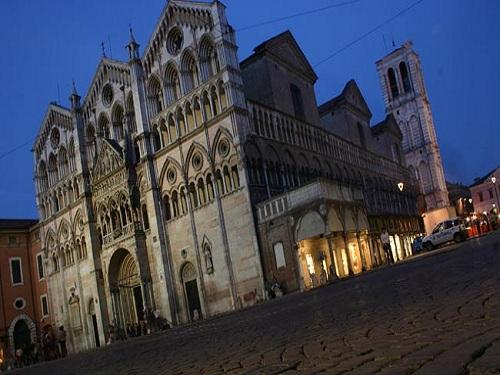 sitios de interés en Ferrara
